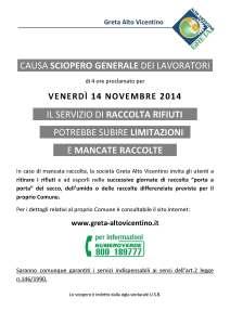locandina sciopero 2014 11 14