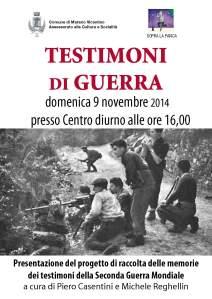 testimoni di guerra