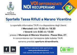 Cartolina orari TARI_Marano Vic_Pagina_1